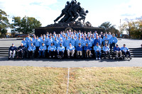 Alpha-Iwo Jima Memorial and Group Photos