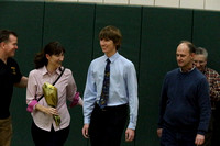 Basketball Varsity Girls & Senior/Parent's Night 2-3